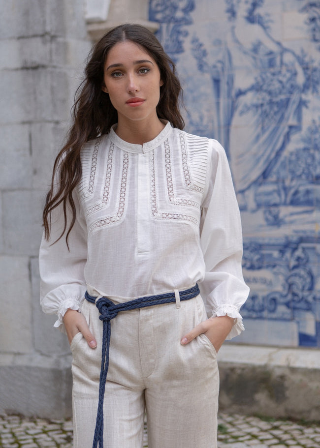 Jane Blouse - Off White