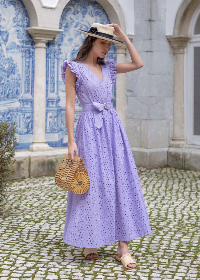 Provence Dress - Lavender