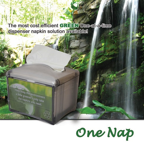 One Nap Dispenser Napkin Interfold, 1/4 Fold 12.5