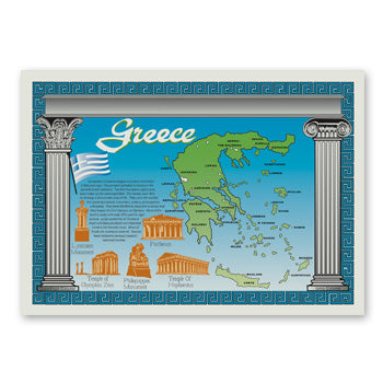 GREECE PLACEMAT 10-1/4
