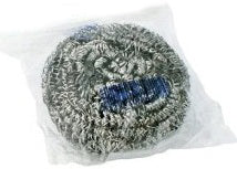 50 GRAM STAINLESS STEEL SPONGES INDIVIDUALLY WRAPPED 12CT