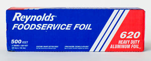 "12"" X 500"" ROLL FOIL - HEAVY WEIGHT ROLL FOIL IN A CUTTER BOX 620"