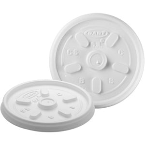DART LID WHITE VENTED 6JL FITS 4J6-1000CT