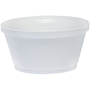 4 OZ. DART FOAM FOOD CONTAINER 4J6 1000CT