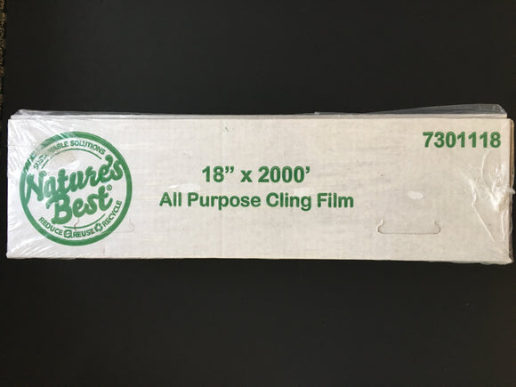 24 X 2000 PLASTIC FOOD WRAP FILM