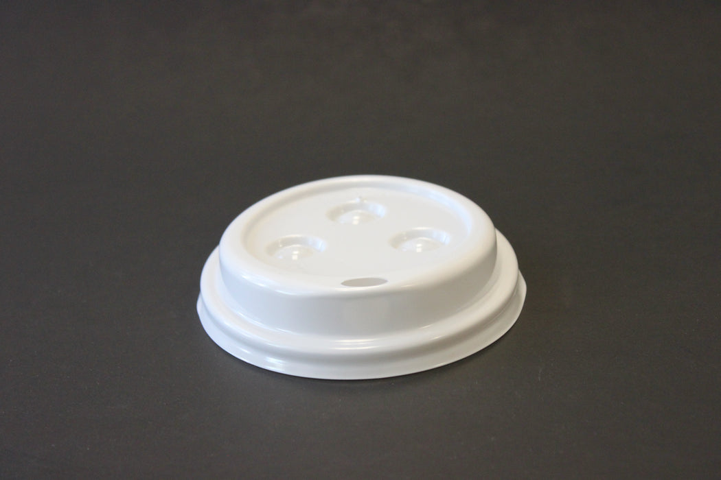 WHITE HOT COFFEE CUPS LIDS FOR 12-20 OZ CUPS 1000CT