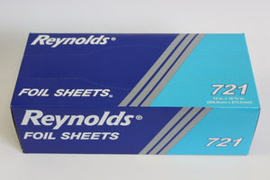"12"" X 10-3/4"" INTERFOLDED ALUMINUM FOIL SHEETS 721 3000CT"