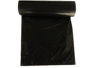 38X58-60 GALLON BLACK 0.8 MIL HEAVY TRASH BAGS 100CT