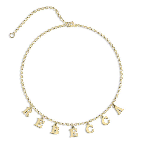 Personalized Choker Name Necklace