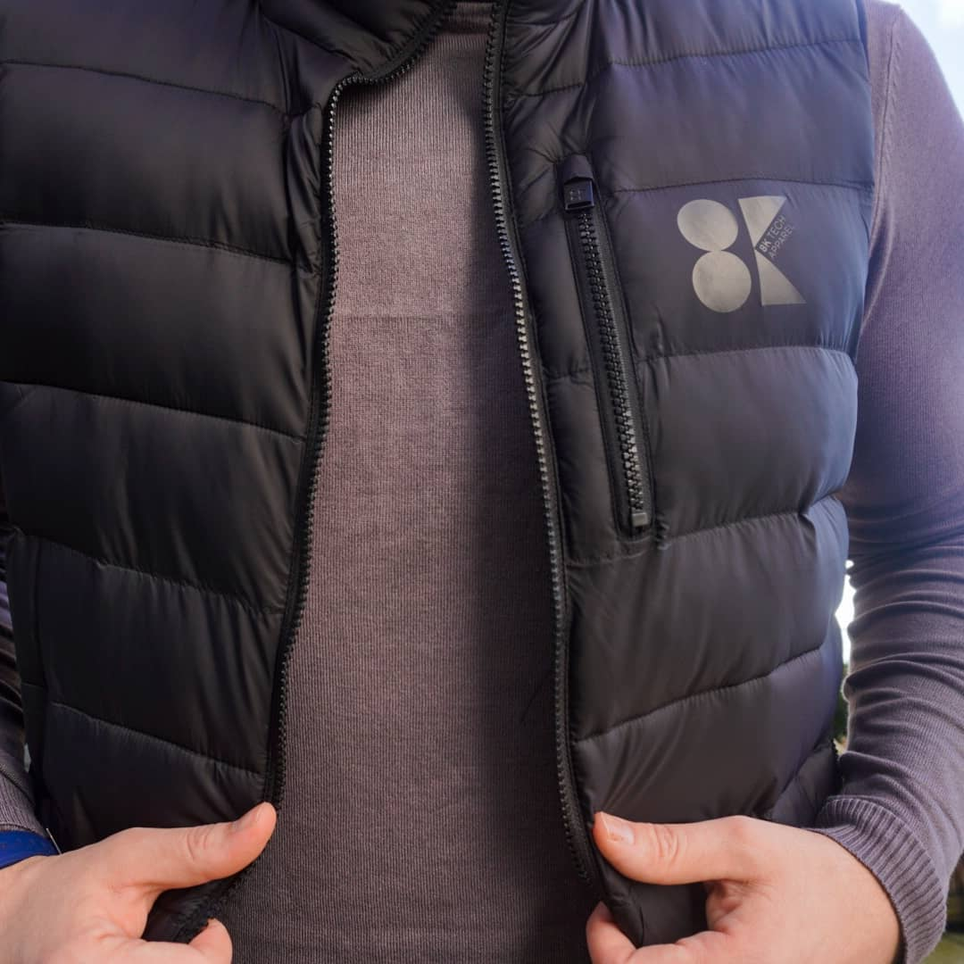 8K Mens Heated Gilet