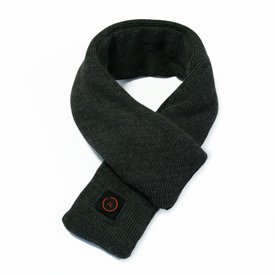 Heated Scarf | Charcoal Grey