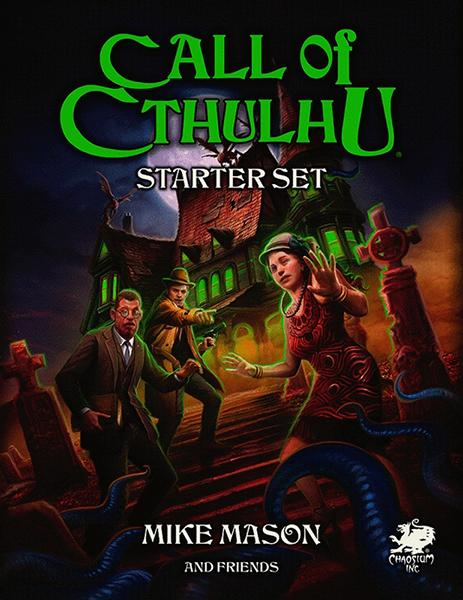 CALL OF CTHULHU RPG STARTER SET