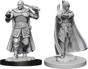 DUNGEONS AND DRAGONS NOLZUR'S MARVELOUS MINIATURES MINSC AND BOO AND DELINA