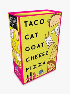 TACO CAT GOAT CHEESE PIZZA BOARD GAME
