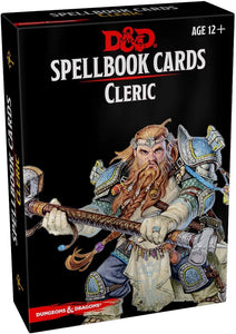 DUNGEONS AND DRAGONS SPELLBOOK CARDS CLERIC