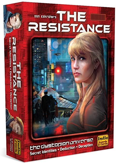 THE RESISTANCE THIRD EDITION BOARD GAME