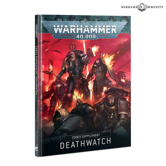 WARHAMMER 40K 9TH EDITION DEATHWATCH CODEX