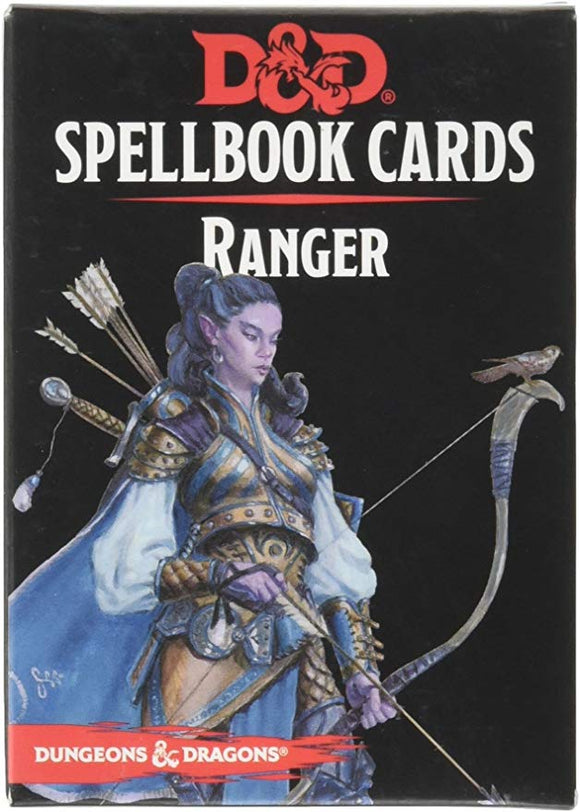 DUNGEONS AND DRAGONS SPELLBOOK CARDS RANGER