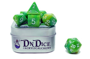 DNDICE MARBLE MUSE GOBBO SNOT DICE SET