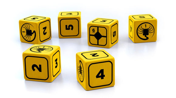 ALIEN RPG STRESS DICE SET PRE ORDER DECEMBER 2019