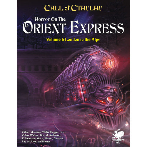 CALL OF CTHULHU RPG HORROR ON THE ORIENT EXPRESS PRE ORDER Q3 2021