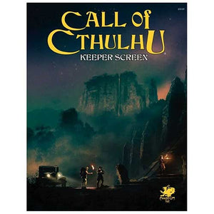 CALL OF CTHULHU 7TH EDITION KEEPERS SCREEN PACK
