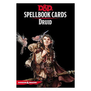 DUNGEONS AND DRAGONS SPELLBOOK CARDS DRUID