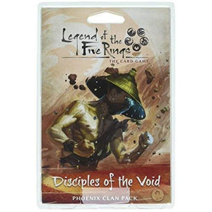 LEGEND OF THE FIVE RINGS CARD GAME DISCIPLES OF THE VOID PHOENIX CLAN EXPANSION