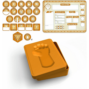 DUNGEONS AND DRAGONS RPG MONK TOKEN SET
