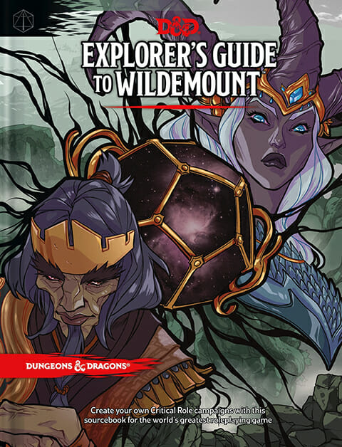 DUNGEONS AND DRAGONS EXPLORER'S GUIDE TO WILDEMOUNT PRE ORDER 17/03/20