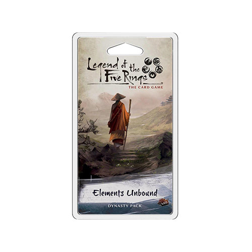 LEGEND OF THE FIVE RINGS CARD GAME ELEMENTS UNBOUND EXPANSION