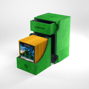 GAMEGENIC WATCHTOWER 100+ CONVERTIBLE PREMIUM DECK BOX GREEN