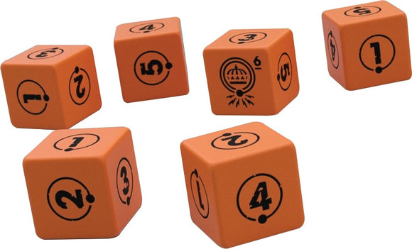TALES FROM THE LOOP RPG DICE SET