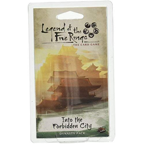 LEGEND OF THE FIVE RINGS CARD GAME INTO THE FORBIDDEN CITY EXPANSION