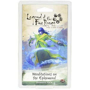 LEGEND OF THE FIVE RINGS CARD GAME MEDITATIONS ON THE EPHEMERAL EXPANSION