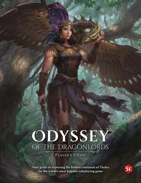 ODYSSEY OF THE DRAGON LORDS SOFT COVER PLAYERS GUIDE PRE ORDER FEBRUARY 2020