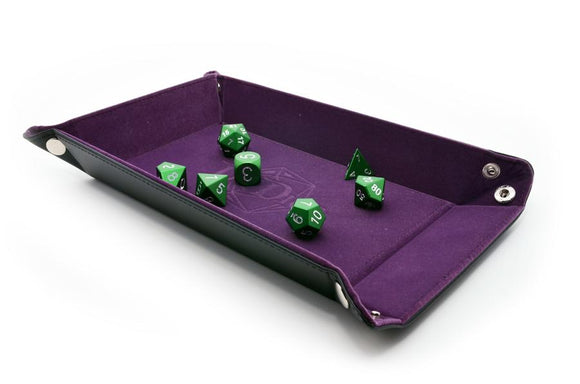 DNDICE LICH PURPLE FOLDING DICE TRAY