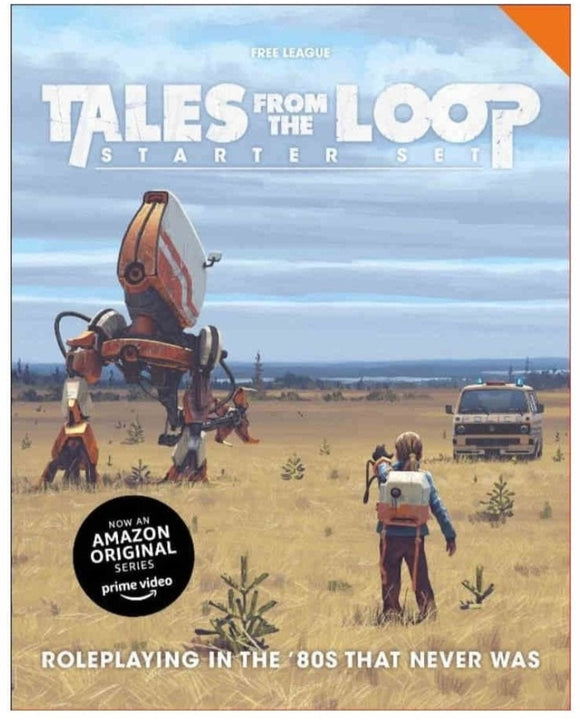 TALES FROM THE LOOP STARTER SET RPG PRE ORDER APRIL 2020