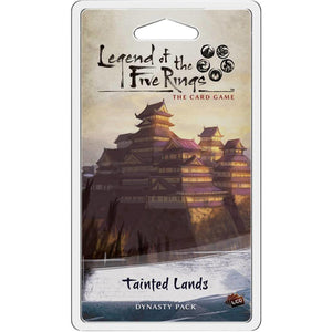 LEGEND OF THE FIVE RINGS CARD GAME TAINTED LANDS EXPANSION