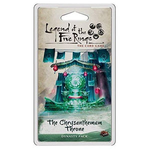 LEGEND OF THE FIVE RINGS CARD GAME THE CHRYSANTHEMUM THRONE EXPANSION