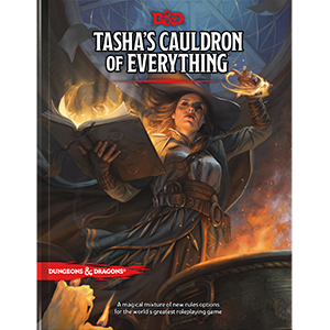 DUNGEONS AND DRAGONS TASHA'S CAULDRON OF EVERYTHING