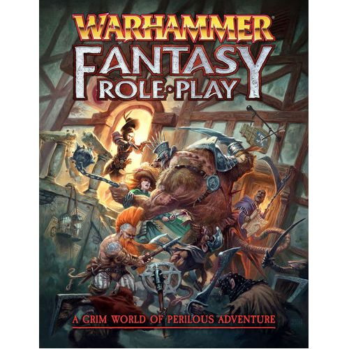 WARHAMMER FANTASY ROLEPLAY CORE RULEBOOK