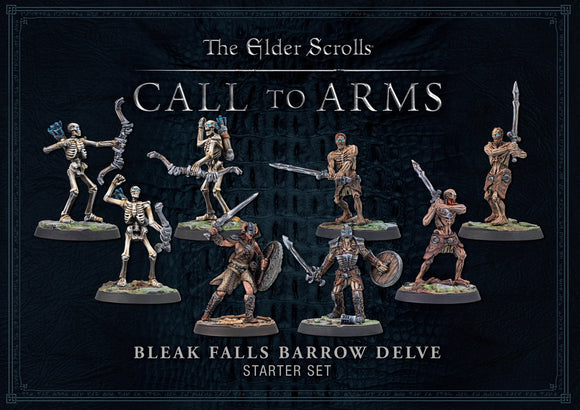 ELDER SCROLLS CALL TO ARMS BLEAK FALLS BARROW DELVE SET SKYRIM PRE ORDER MARCH 2020