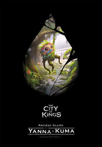 THE CITY OF KINGS BOARD GAME ANCIENT ALLIES YANNA + KUMA