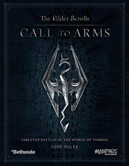 ELDER SCROLLS CALL TO ARMS CORE RULES SKYRIM PRE ORDER MARCH 2020