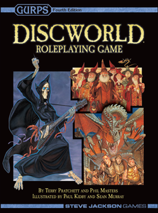 DISCWORLD ROLEPLAYING GAME 4TH EDITION GURPS
