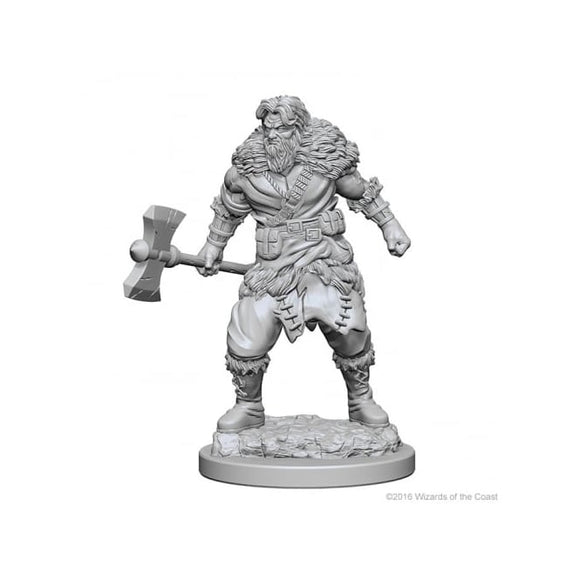 DUNGEONS AND DRAGONS NOLZUR'S MARVELOUS MINIATURES HUMAN BARBARIAN MALE