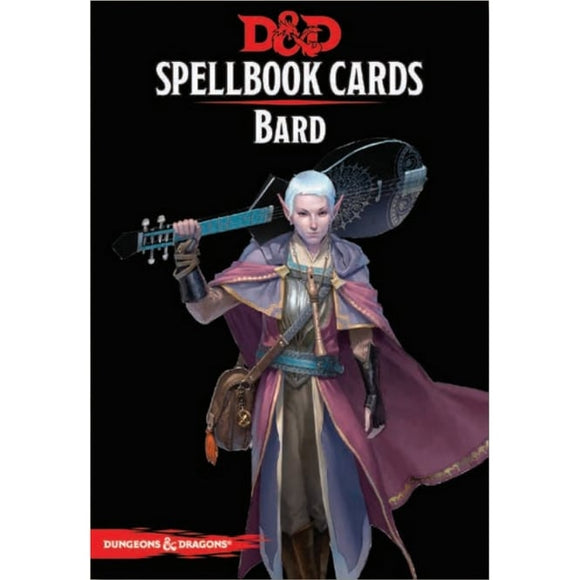 DUNGEONS AND DRAGONS SPELLBOOK CARDS BARD