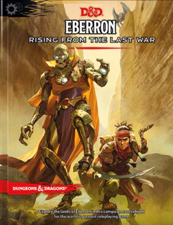 DUNGEONS AND DRAGONS EBERRON RISING FROM THE LAST WAR