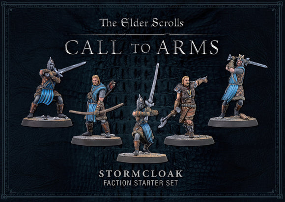 ELDER SCROLLS CALL TO ARMS STORMCLOAK FACTION STARTER SET SKYRIM PRE ORDER MARCH 2020